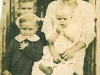 Florence Kitty Haley Harris with three of her sons: Joseph, John and James